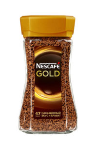 Вкусная упаковка NESCAFÉ® Gold