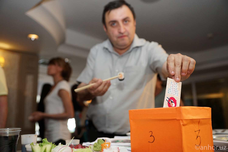 Назван лучший суши-бар в Ташкенте (фото)