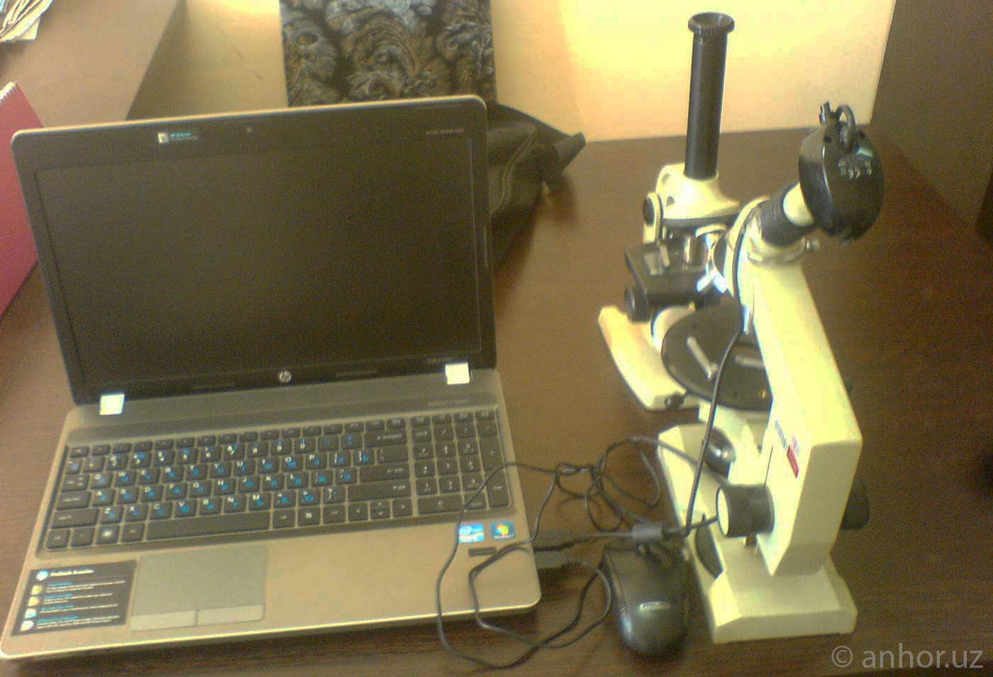 Ташкентский студент модернизировал микроскоп