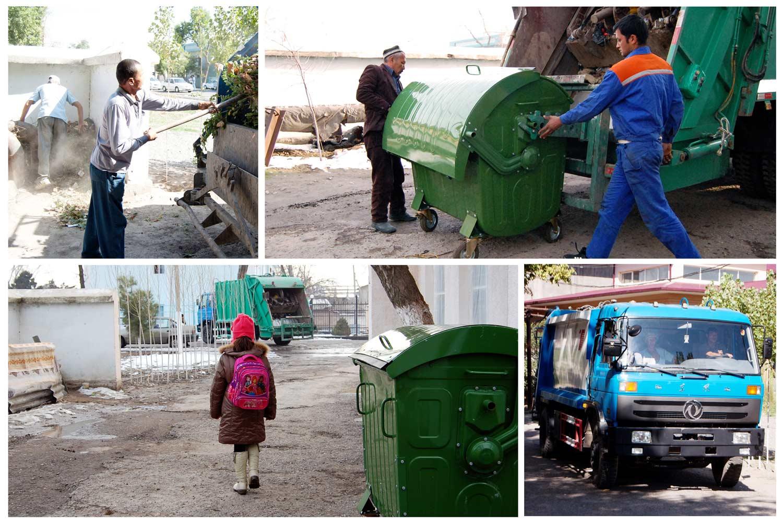 В Ташкентской области усовершенствована система управления твердыми бытовыми отходами