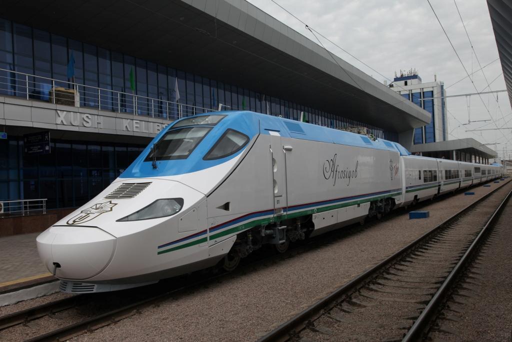 С 5 июня запустят дополнительный рейс в Самарканд на высокоскоростном поезде Afrosiyob