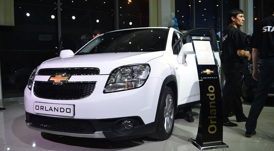 В Ташкенте презентовали Chevrolet Orlando (фото)