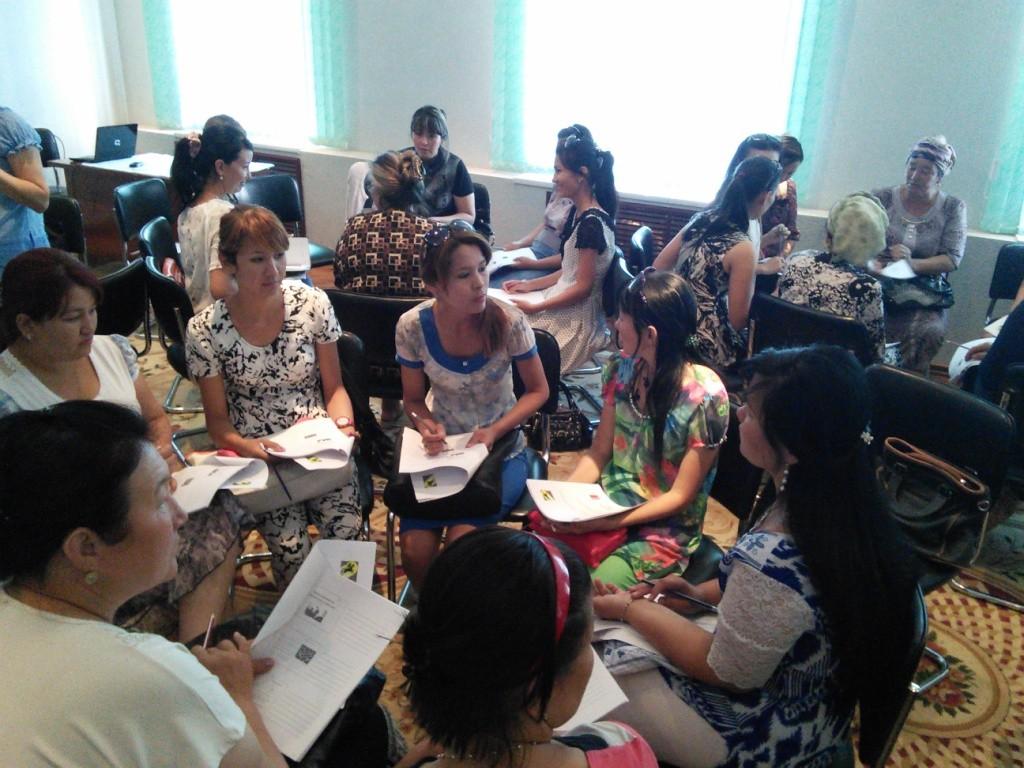 Посольство Великобритании помогло женщинам-предпренимателям Каракалпакстана (фото)