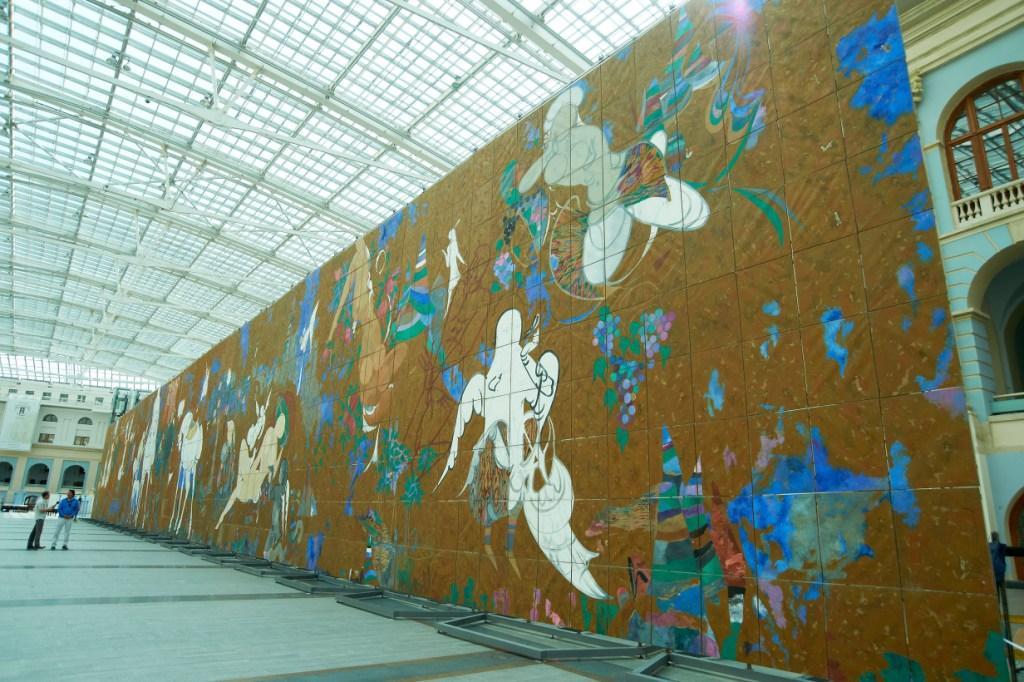 В Узбекистан привезут мега-полотно «Тысяча ангелов и одна картина»