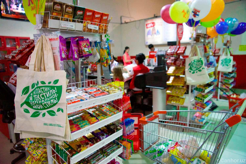 В Ташкенте начали продавать экосумки (фото)