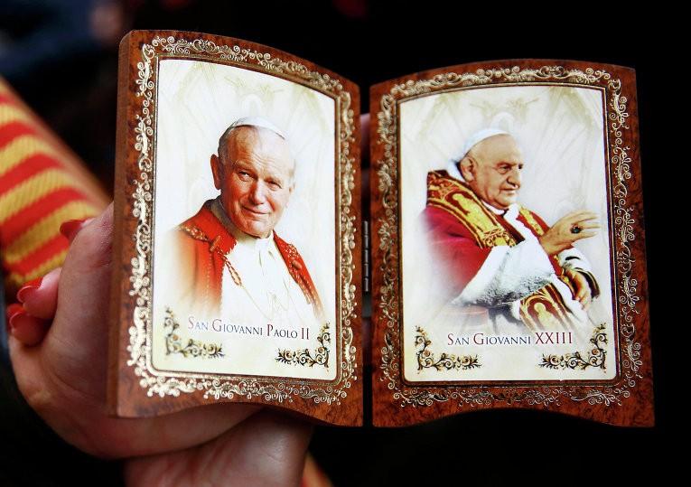 В Узбекистан привезли реликвии Иоанна Павла II