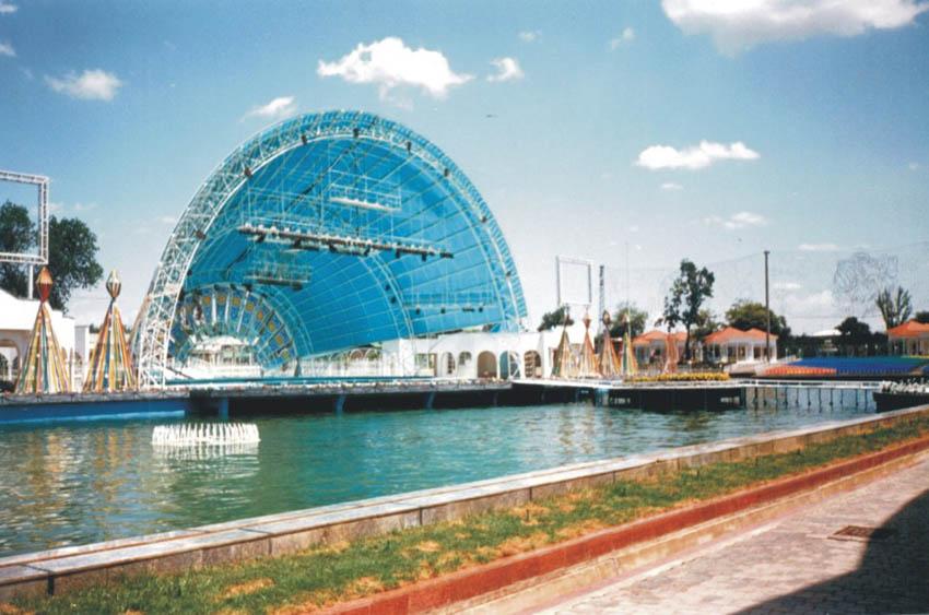 В Андижанской области сдали в эксплуатацию отреставрированный парк