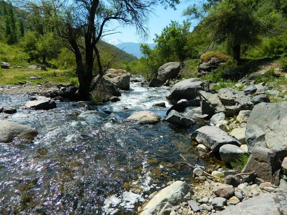 Три водопада Кызылсу