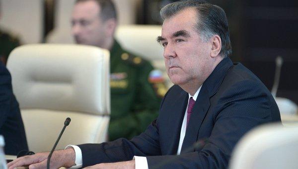 На похороны Ислама Каримова прибудет Президент Таджикистана Эмомали Рахмонов