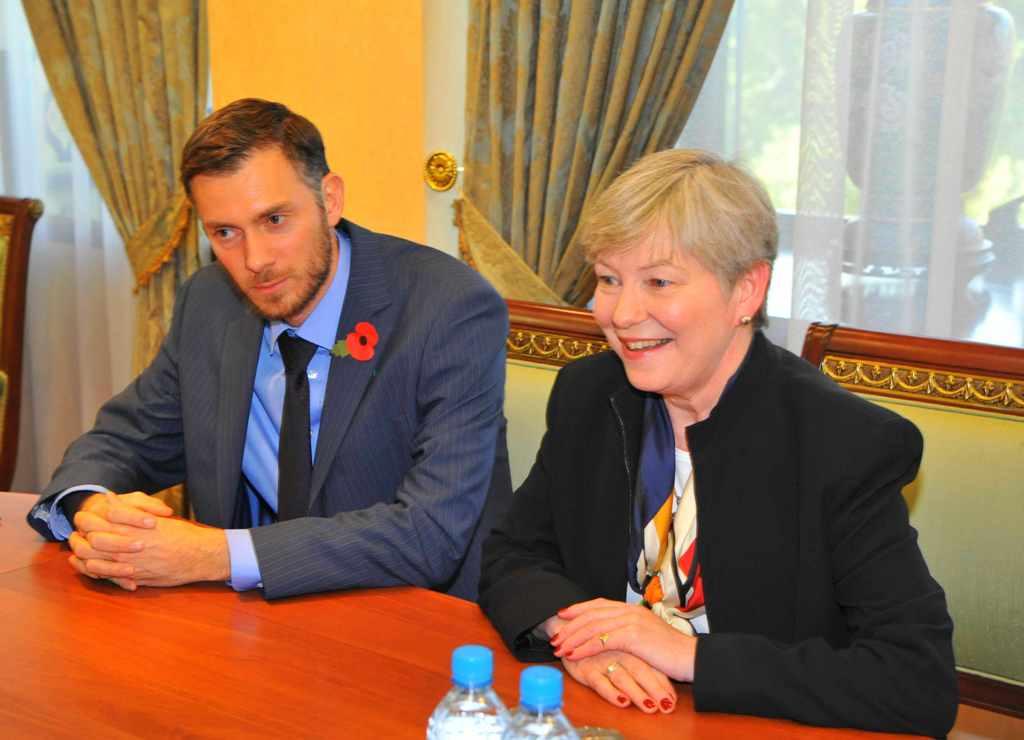 Барбара Логан Хэй нанесла визит в МИД Узбекистана